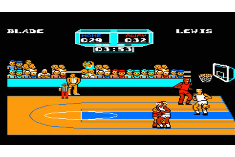 Arch Rivals - A Basketbrawl! Gameplay Nes (Nintendo) - YouTube