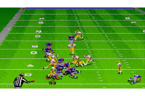 Madden NFL '97 Sega Genesis Gameplay HD - YouTube