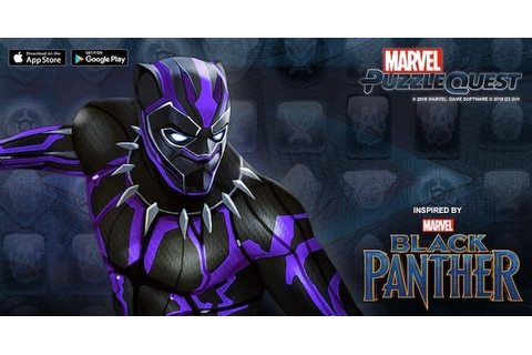 Black Panther Joins Marvel Puzzle Quest In a Special Event