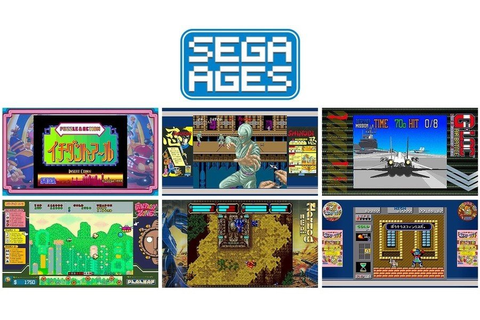 Six More Sega Ages Games Announced For Nintendo Switch ...