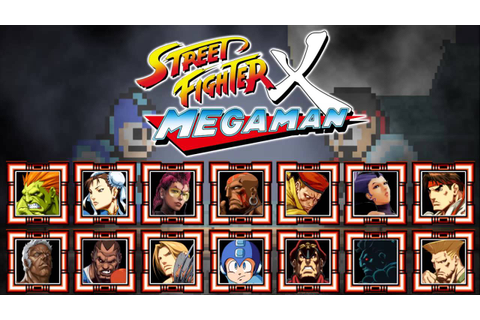 Street Fighter X Mega Man - All Character Themes - YouTube