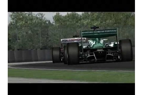 Superleague Formula 2009 The Game - YouTube