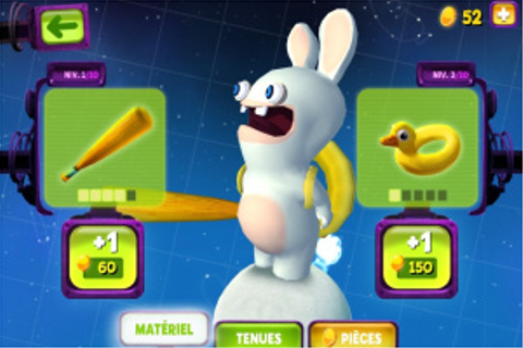 Test du jeu The Lapins Crétins : Big Bang sur Android ...