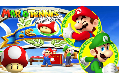 Mario Tennis Open 3DS: Part 1: World Open - Mushroom Cup ...