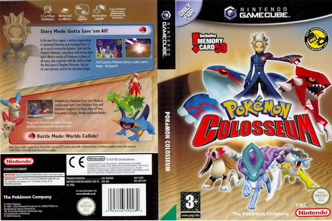 GC6P01 - Pokémon Colosseum