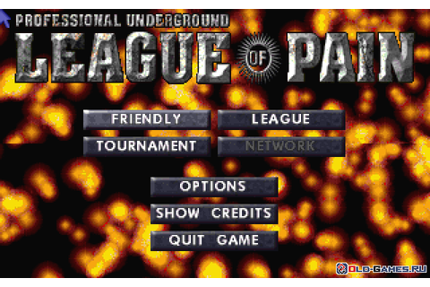 Download Professional Underground League of Pain (Windows ...