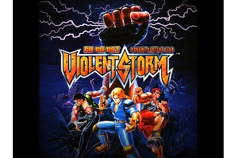 # 21 VIOLENT STORM KONAMI ( PT 1) | VIDEO GAME CLASSICS ...