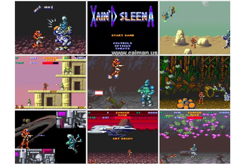 Caiman free games: Xain'D Sleena by Castle software.