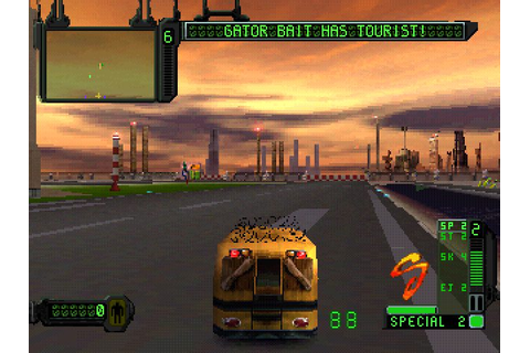 Rogue Trip: Vacation 2012 (1998) by Singletrac PS game