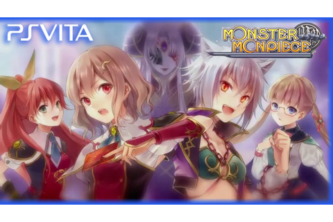 PS Vita - Monster Monpiece - Debut Trailer [English] - YouTube