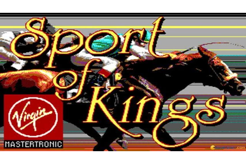 Sport of kings gameplay (PC Game, 1986) - YouTube