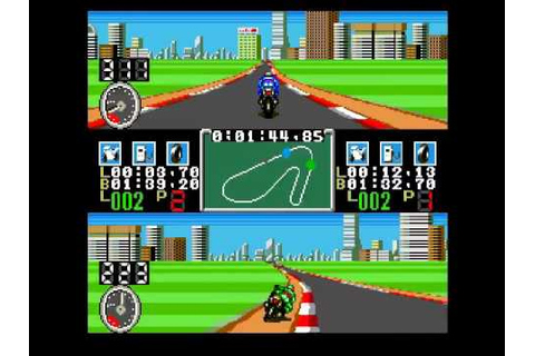 Racing Damashii (PC Engine) - YouTube