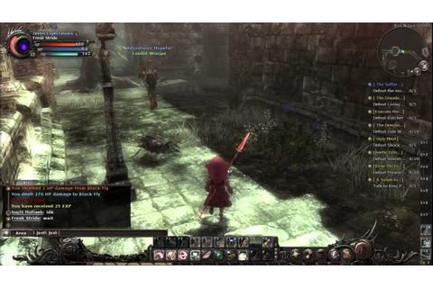 Wizardry Online | Player Killing - YouTube