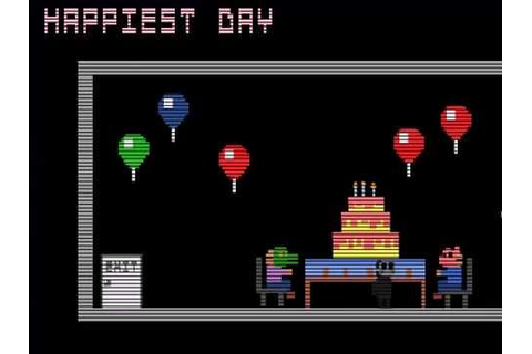 FNAF 3 - Happiest Day - Minigame - YouTube