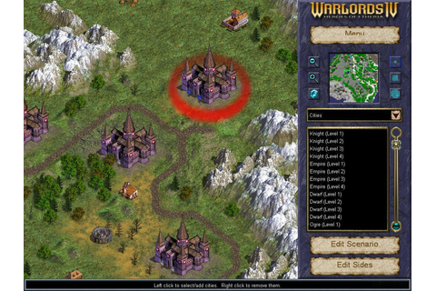 Warlords 4: Heroes of Etheria Download (2003 Strategy Game)