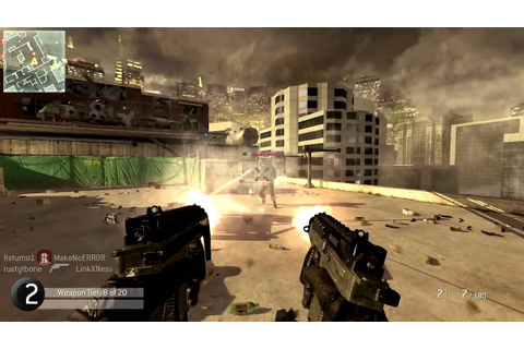 Modern Warfare 2 GUN GAME! With a cool ending - YouTube