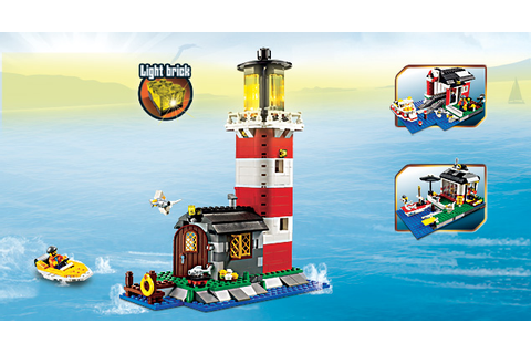 5770 L'île du phare | Wiki LEGO | FANDOM powered by Wikia
