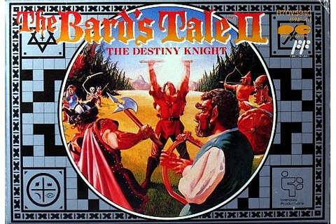 The Bard's Tale II: The Destiny Knight (1992) NES box ...