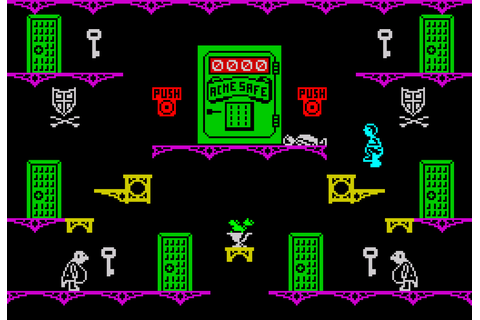 Moonlight Madness, ZX Spectrum | The King of Grabs