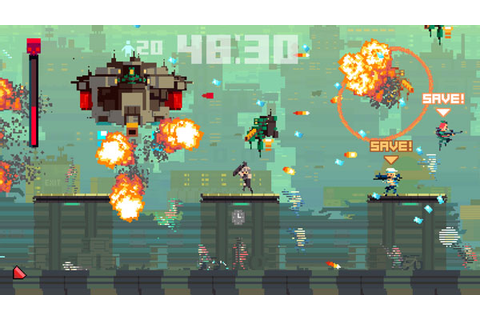 Super Time Force six-minute gameplay video - Gematsu