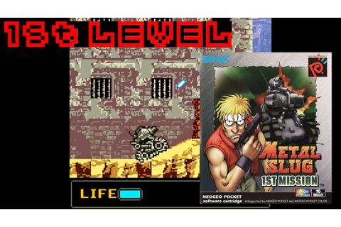 Metal Slug: 1st Mission (1999, Neo Geo Pocket Color) - 1st ...