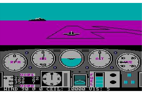 Solo Flight Download (1985 Simulation Game)