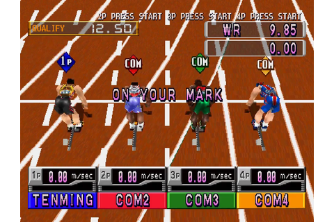 International Track & Field 2000 Download Game | GameFabrique