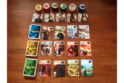 A gem of a game — Splendor review – GAMING TREND