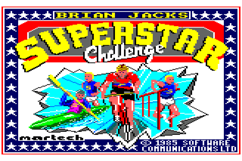Brian Jacks Superstar Challenge (1985) by Software ...
