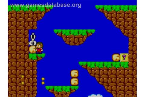 Alex Kidd in Miracle World - Sega Master System - Games ...