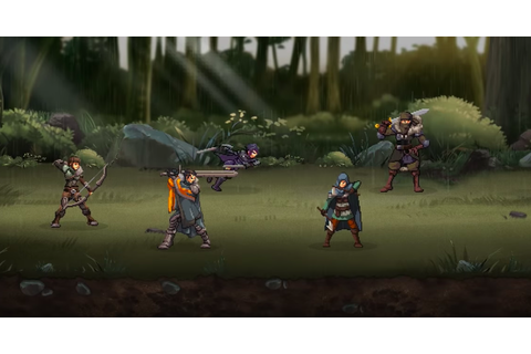 Get Nostalgic With Rise Eterna, A Game Inspired By 90s RPG ...