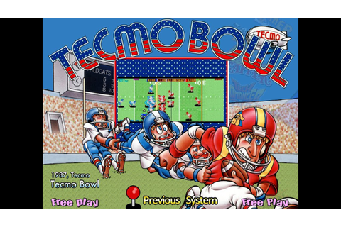 Tecmo Bowl (Arcade) - YouTube