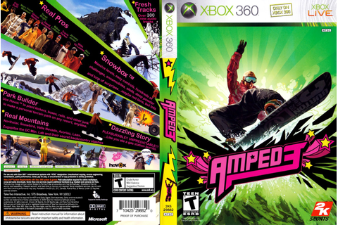 Amped 3 (Cover 2005) Capa Xbox 360 ~ Giga In Games
