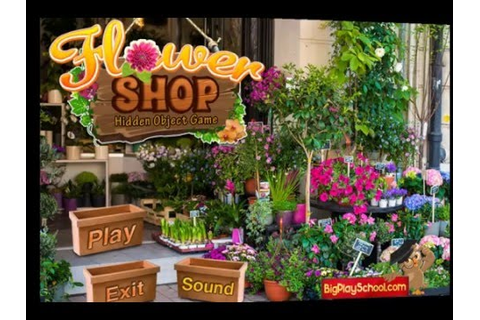 Flower Shop - Free Find Hidden Objects Games - YouTube