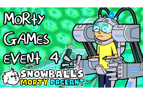 Pocket Mortys Morty Games - Snowball's Morty Pageant - YouTube