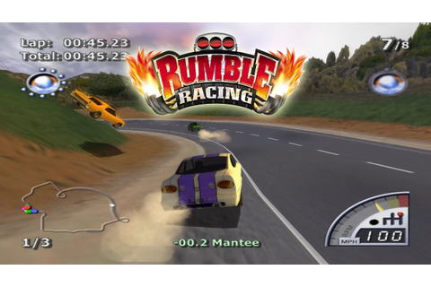 PCSX2 Emulator 1.5.0-2143 | Rumble Racing [1080p HD ...