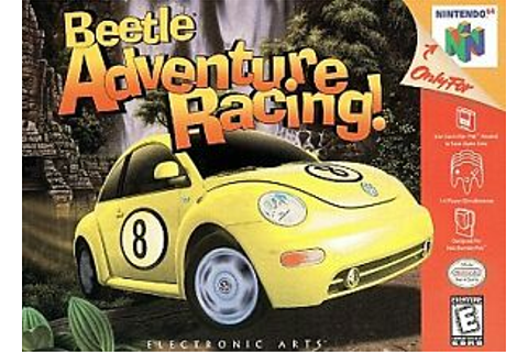 ***BEETLE ADVENTURE RACING N64 NINTENDO 64 GAME COSMETIC ...