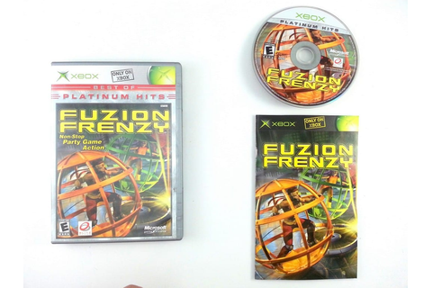 Fuzion Frenzy game for Xbox (Complete) | The Game Guy