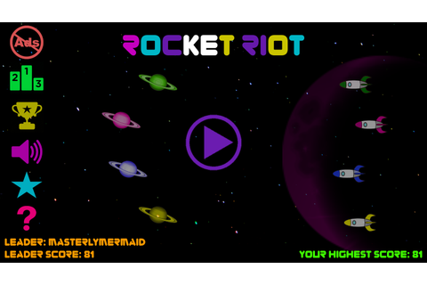 Rocket Riot: Space Control - Android Apps on Google Play