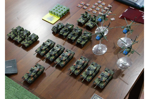 Sparker's Wargaming Blog: Team Yankee - a 2 move game!