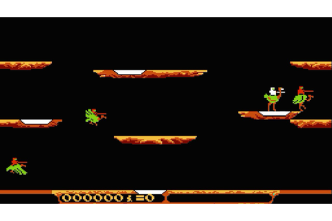 Joust (video game) - YouTube