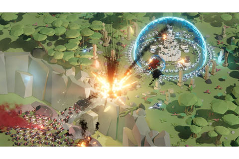 Control a giant laser in action-strategy defense game Taur ...