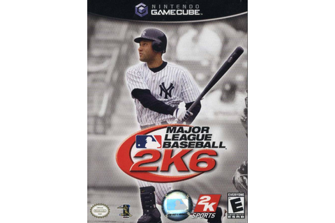 MAJOR LEAGUE BASEBALL 2K6 NINTENDO GAMECUBE GAME DISC ONLY ...