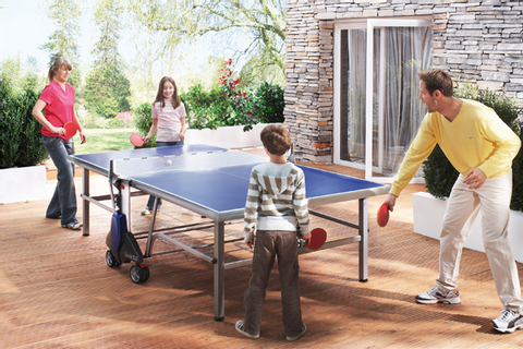 Outdoor Ping Pong Tables | Aluminum Table Tennis Tables ...