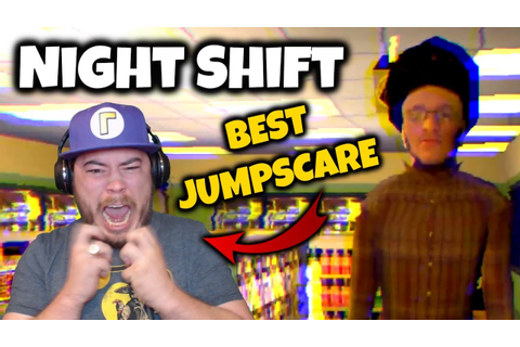 HORROR GAME JUMPSCARE ENDED MY CAREER!! | Night Shift ...