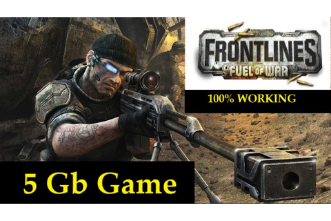 How to Download and Install Frontlines Fuel of War game ...