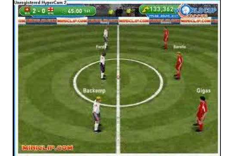 Miniclip interactive football soccer WORLD CUP 2006 - YouTube
