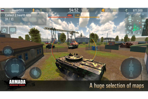 Amazon.com: Armada Tanks: War Modern Machines Free Online ...