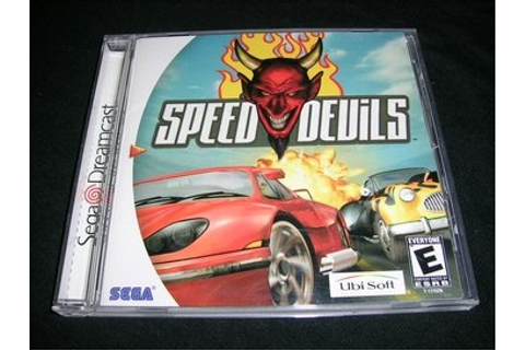 Speed Devils - Sega Dreamcast Software Video Game Software ...