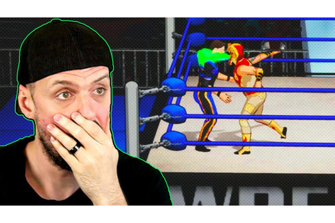 INSANE *NEW* Unreleased Pro Wrestling Video Game - YouTube